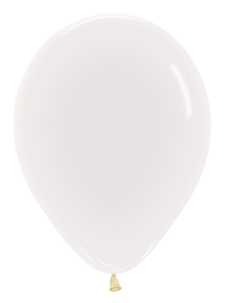 Balon okrągły 12 transparentny