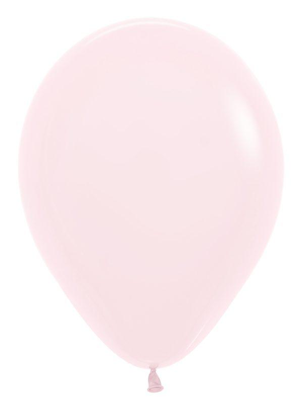 "R12 609 Balon okrągły 12"" pastel mat różowy Sklep Balonolandia"