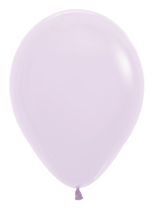 "R12 650 Balon okrągły 12"" pastel mat lila  Sklep Balonolandia"