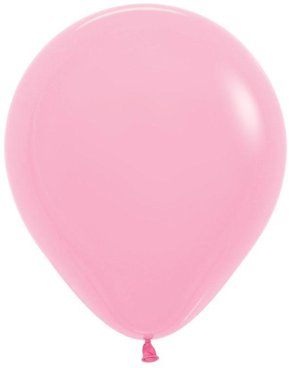 """R18 009 Balon okrągły 18"""" różowy Sklep Balonolandia"""