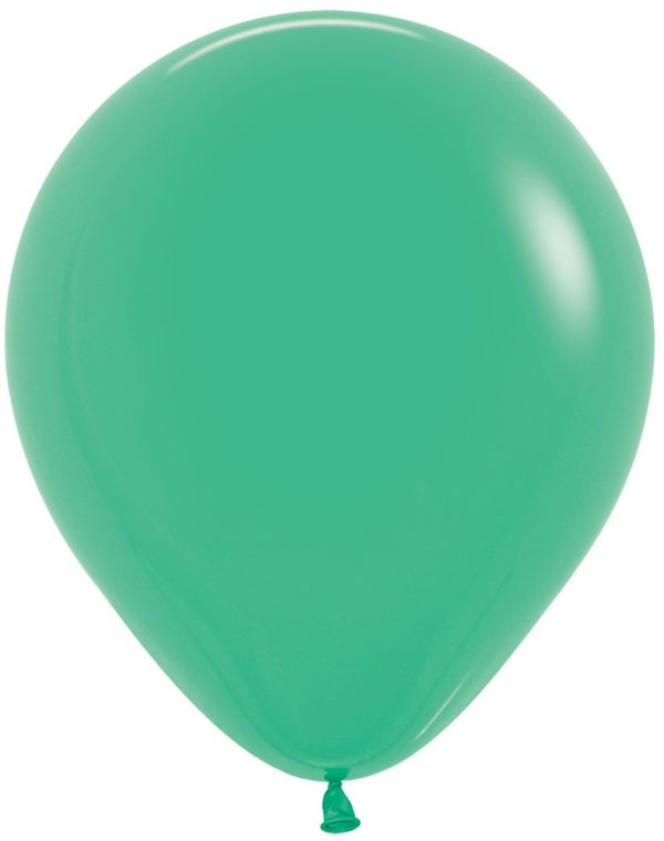 """R18 030 Balon okrągły 18"""" zielony Sklep Balonolandia"""