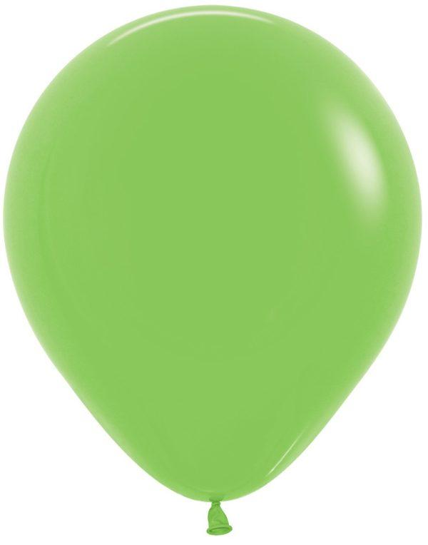 "R18 031 Balon okrągły 18"" limonka Sklep Balonolandia"