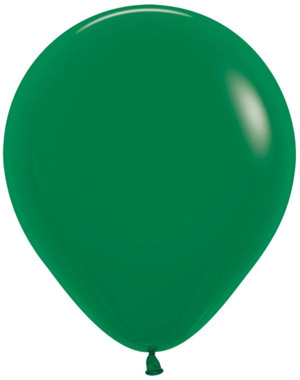 "R18 032 Balon okrągły 18""  leśna zieleń  Sklep Balonolandia"