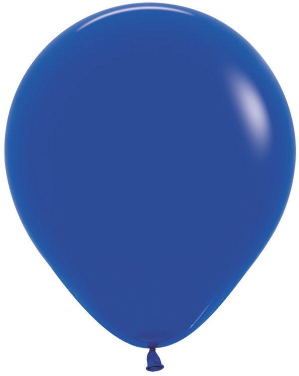 "R18 041 Balon okrągły 18"" królewski błękit Sklep Balonolandia"