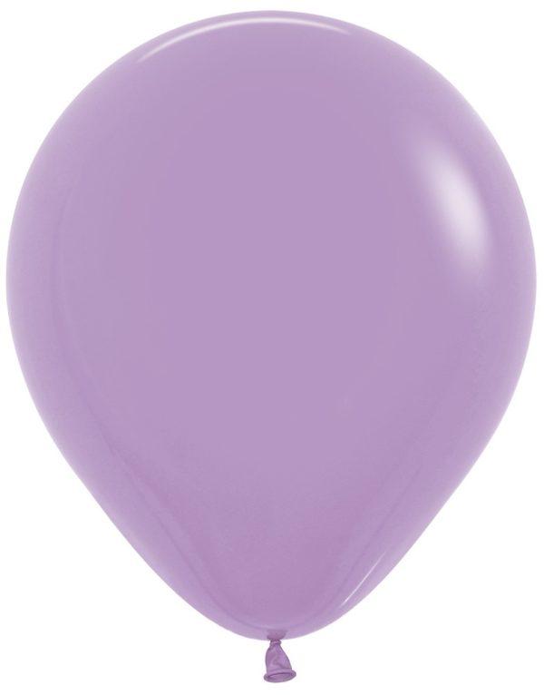 "R18 050 Balon okrągły 18""  lila  Sklep Balonolandia"