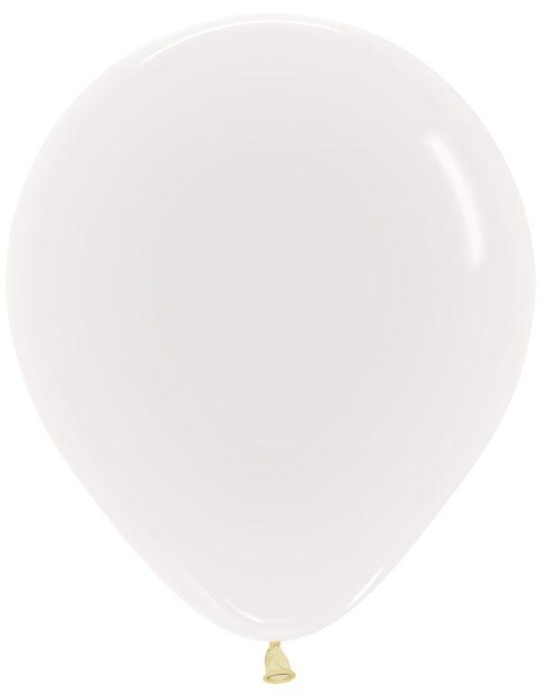 """R18 390 Balon okrągły 18"""" transparentny  Sklep Balonolandia"""