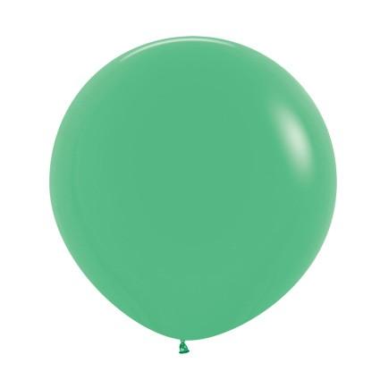 """R24 030 Balon okrągły 24"""" zielony  Sklep Balonolandia"""