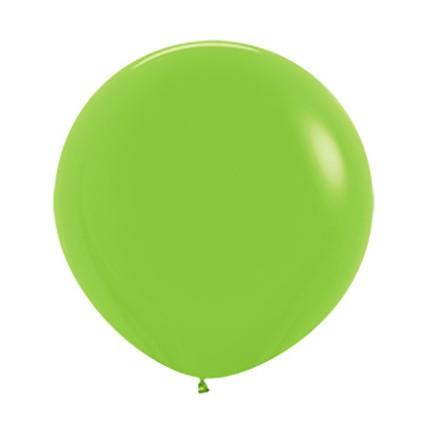 Balon okrągły 24 limonka