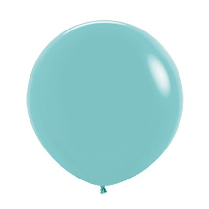 Balon okrągły 24 akwamaryna