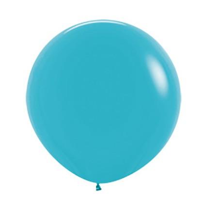 Balon okrągły 24 karaibski błękit