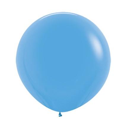 """R24 040 Balon okrągły 24"""" niebieski  Sklep Balonolandia"""