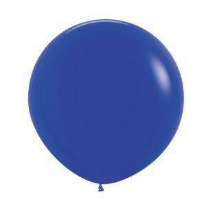 Balon okrągły 24 królewski błękit