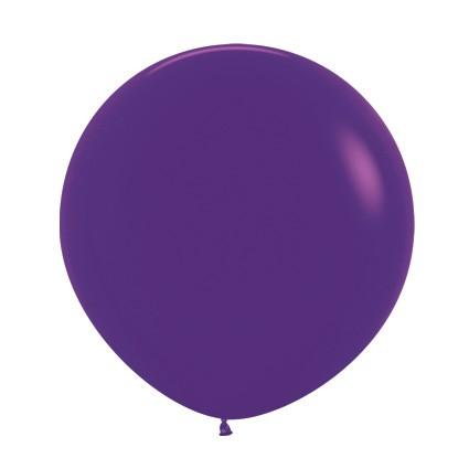 Balon okrągły 24 fioletowy