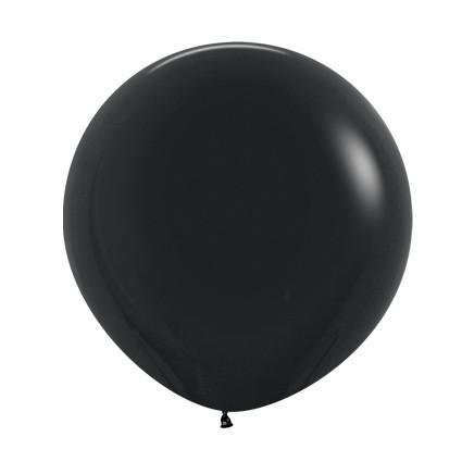 Balon okrągły 24 czarny