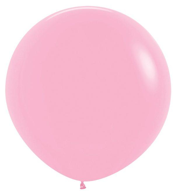 Balon kulisty 36 różowy