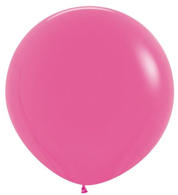 Balon kulisty 36 fuksja