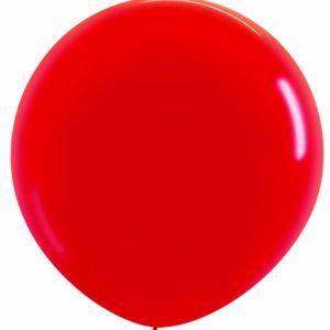 Balon kulisty 36 czerwony