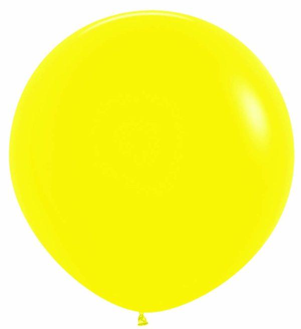 Balon kulisty 36 żółty