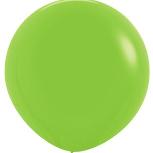 Balon kulisty 36 limonka