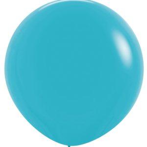 Balon kulisty 36 karaibski błękit