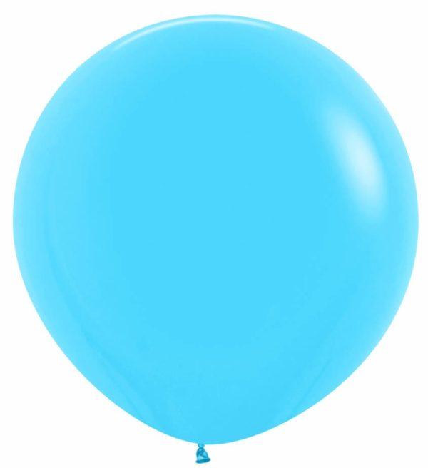 """R36 040 Balon okrągły 36""""  niebieski  Sklep Balonolandia"""