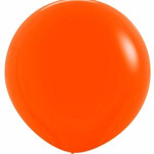 Balon kulisty 36 pomarańczowy
