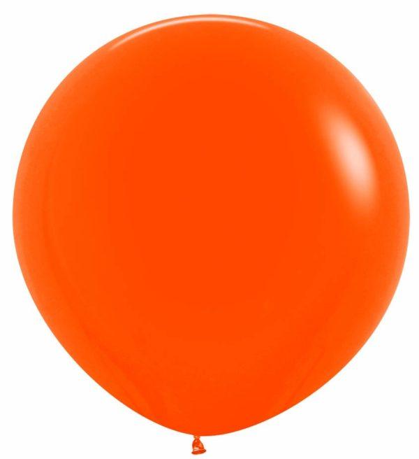 """R36 061 Balon okrągły 36""""  pomarańczowy  Sklep Balonolandia"""