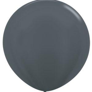 Balon kulisty 36 metalik grafitowy