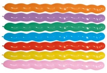 SPIRAL Balon spirala miks kolorów Sklep Balonolandia