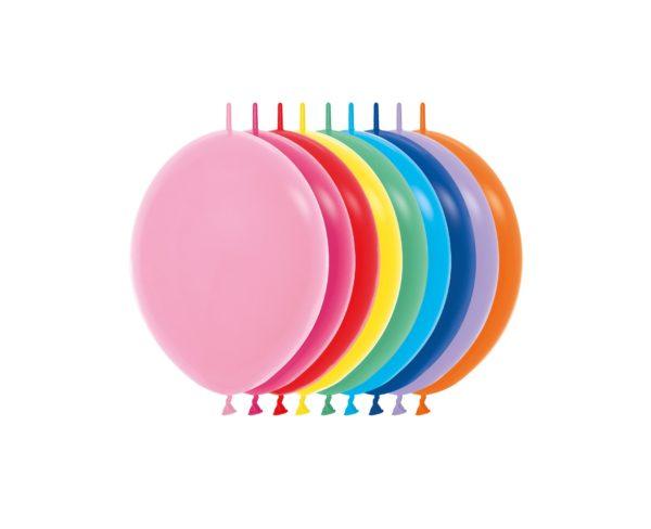 """LOL6 000 Balon z łącznikiem 6"""" miks kolorów  Sklep Balonolandia"""