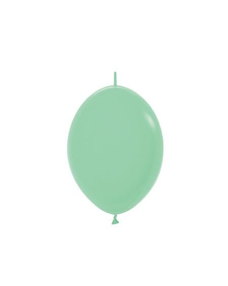 """LOL6 026 Balon z łącznikiem 6"""" miętowa zieleń Sklep Balonolandia"""