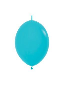 """LOL6 038 Balon z łącznikiem 6"""" karaibski błękit  Sklep Balonolandia"""