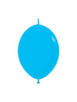 """LOL6 040 Balon z łącznikiem 6"""" niebieski  Sklep Balonolandia"""