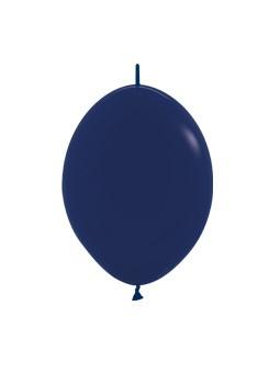 """LOL6 044 Balon z łącznikiem 6"""" granatowy Sklep Balonolandia"""