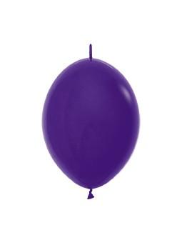 """LOL6 051 Balon z łącznikiem 6"""" fioletowy Sklep Balonolandia"""