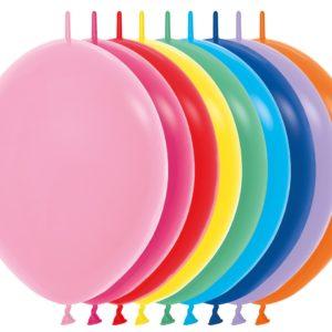 Balon z łącznikiem 12 miks kolorów
