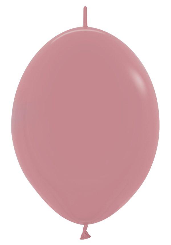 Balon z łącznikiem 12 rosewood