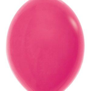 Balon z łącznikiem 12 fuksja