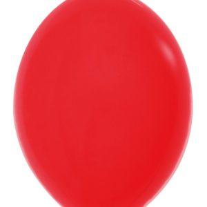 Balon z łącznikiem 12 czerwony