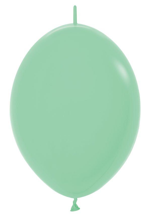 """LOL12 026 Balon z łącznikiem 12"""" miętowa zieleń  Sklep Balonolandia"""