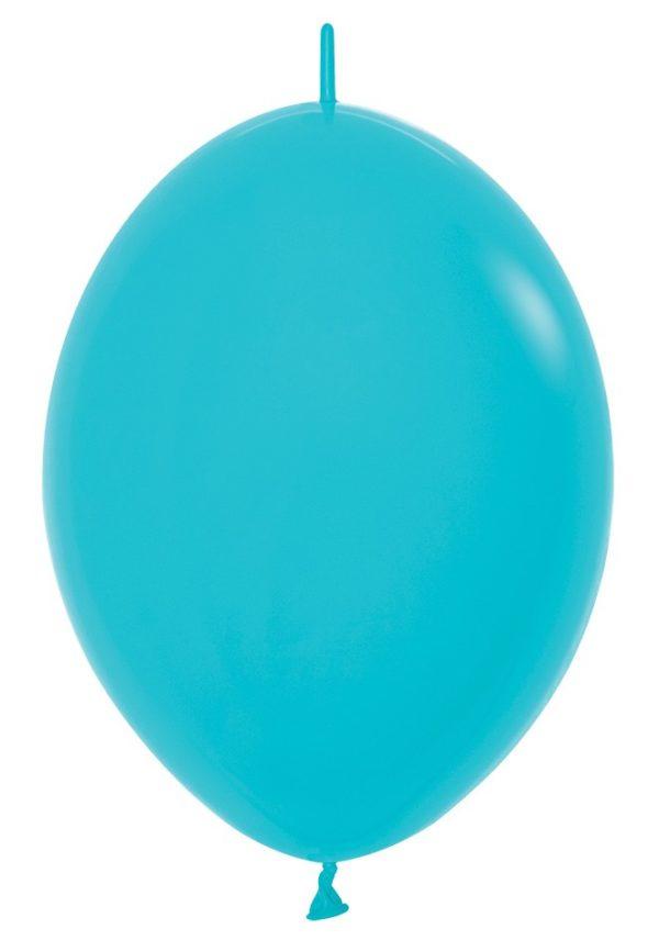 """LOL12 038 Balon z łącznikiem 12"""" karaibski błękit  Sklep Balonolandia"""