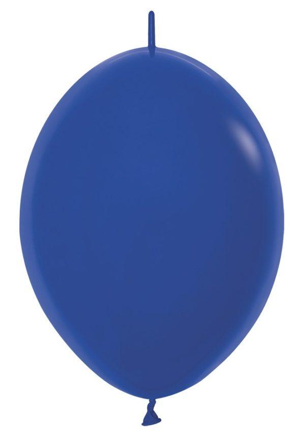 Balon z łącznikiem 12 królewski błękit