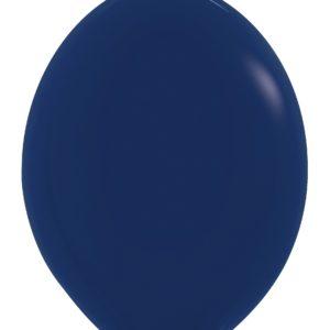 Balon z łącznikiem 12 granatowy