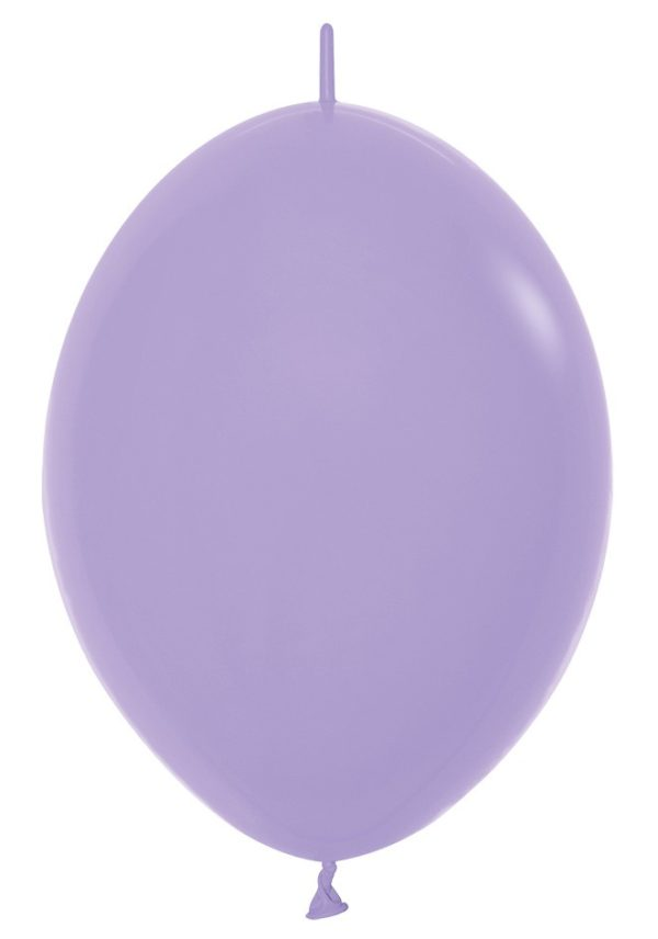 Balon z łącznikiem 12 lila