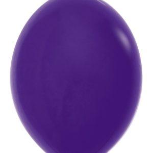 Balon z łącznikiem 12 fioletowy