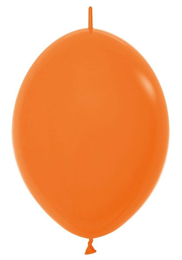 Balon z łącznikiem 12 pomarańczowy