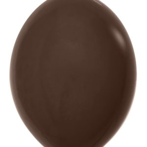 Balon z łącznikiem 12 czekoladowy