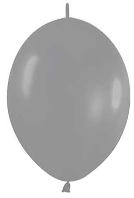 Balon z łącznikiem 12 szary