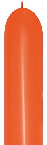 Balon do modelowania LOL660 pomarańczowy