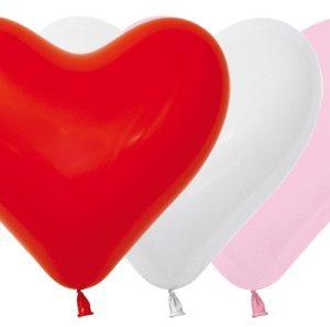 Balon serce 12 miks love